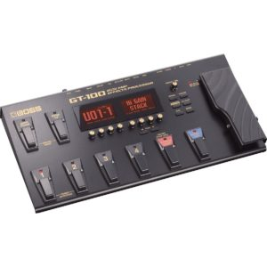 Best Boss GT-100 Multi Effects Guitar Pedals for Live Performances