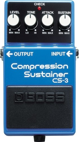 Best Compressors for Live Acoustic Electric Guitar Players CS3 Compressor