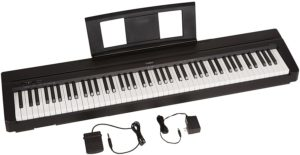 Best Yamaha Portable Keyboards With Weighted Keys