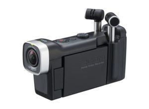 best camera for musicians zoom q4n