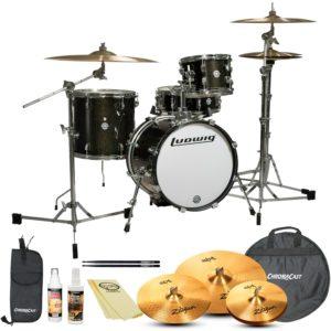 ludwig break beats best drumset for the money