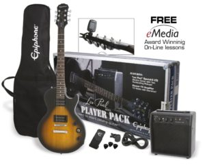 best epiphone electric guitar package for small hands