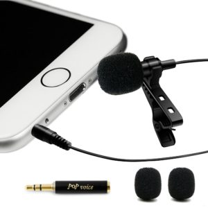 Best Professional #1 Lavalier Lapel Microphone For Zoom H1