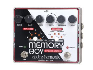 Best Memory Boy Delay Pedals With Tap Tempo