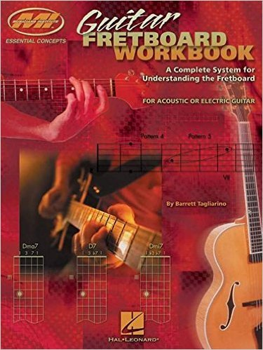 Best Fretboard Workbook Music Theory Book for Guitar