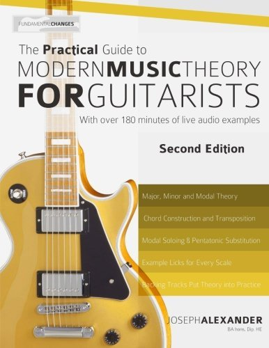 Best Practical Guide Music Theory Books for Guitar