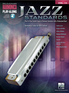 best jazz standards chromatic harmonica for blues book