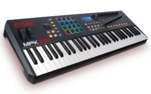 best midi controllers for logic pro x Akai Professional MPK261
