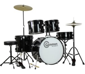 best Gammon Percussion Full Size Complete drum set for adults