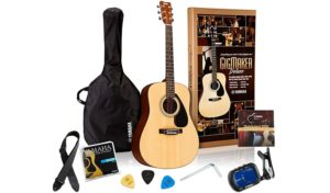 best starter acoustic guitar pack for adults Yamaha Gigmaker
