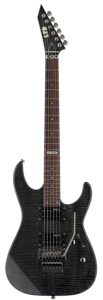 esp ltd m100fm best electric guitar for small hands