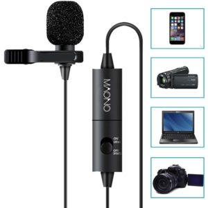 MAONO best lavalier mics for zoom h1