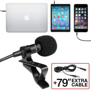 best Professional Grade lavalier mics for zoom h1