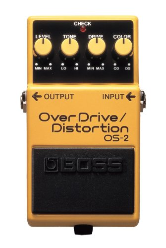 best boss os2 overdrive pedal for blues