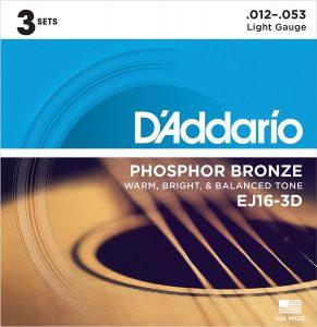 best d'addario acoustic guitar strings for beginners
