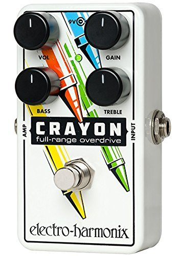 best ehx crayon overdrive pedal for blues