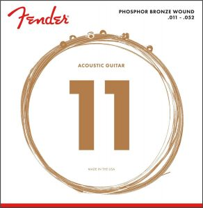 fender best acoustic guitar strings for beginners