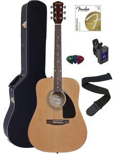 best fender fa-100 acoustic guitar under 500