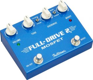 best Fulltone overdrive pedals for blues