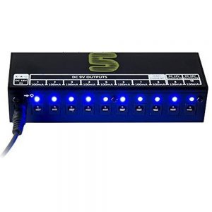 Best AGPtek 10 power supply for small pedalboard