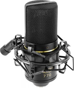 best MXL 770 mic for voice over