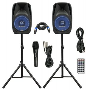 best Pair Alphasonik powered speakers for live bands