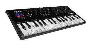 best midi controller for beginners the m-audio axiom
