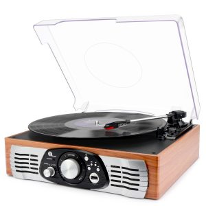 bets 1byone affordable record player with built in speaker
