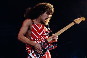 what kind of guitar does eddie van halen play