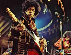 what guitar did jimi hendrix use