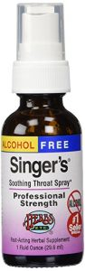 Best Throat Spray For Singer's Saving Grace