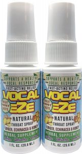 Best Vocal Eze Throat Spray For Singers